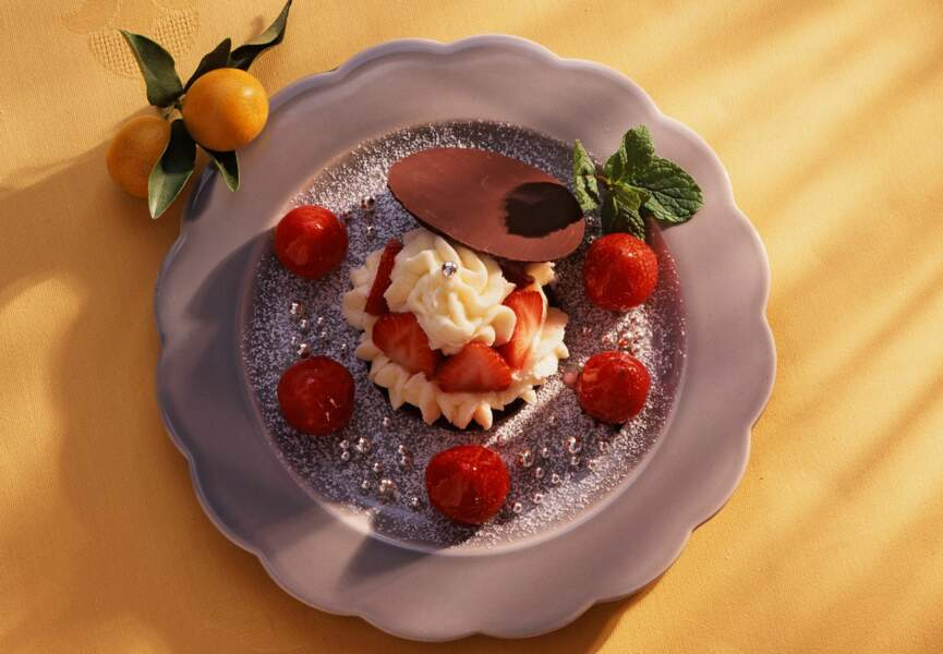 Délice choco-fraise