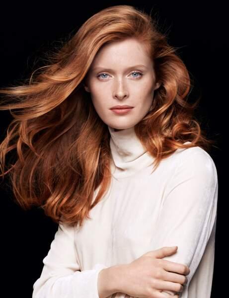 Les cheveux roux naturels