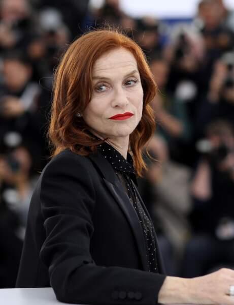 Le roux auburn d'Isabelle Huppert