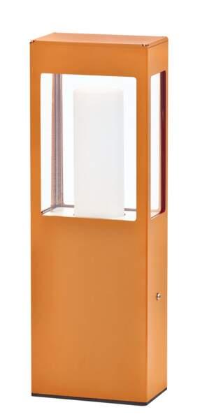 balise de jardin orange Pradier