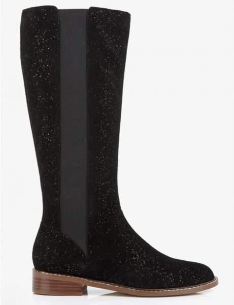 Tendance bottes d'hiver : glitter