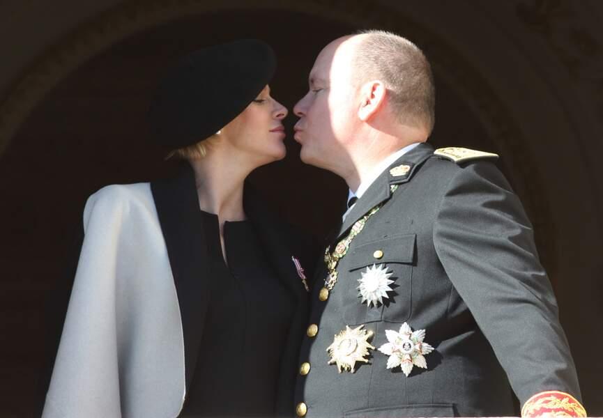 Charlène de Monaco et Albert II
