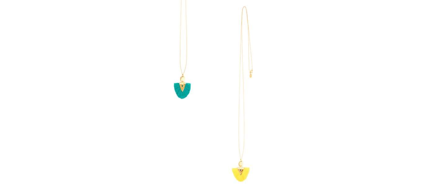 Les bijoux frangés
