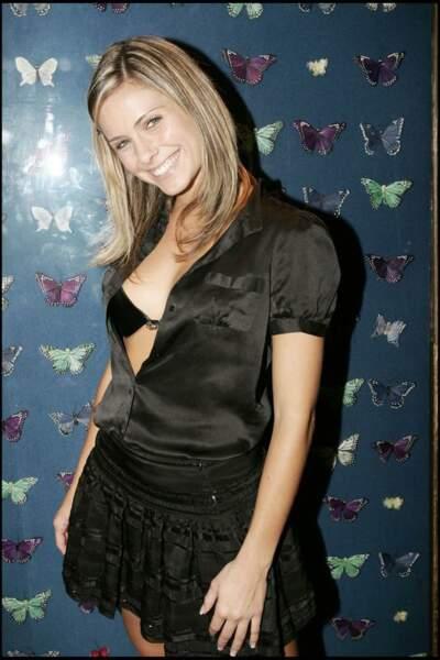"2005, elle sort sa marque de lingerie ""Clara M"""