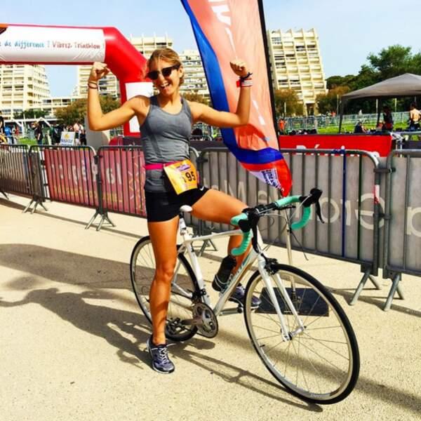 Participer à mon premier triathlon 1 mois après mon premier marathon a été une expérience inoubliable