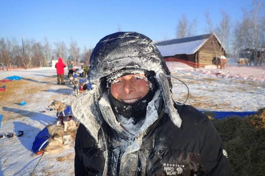 En Alaska, la température peut descendre à - 50°C