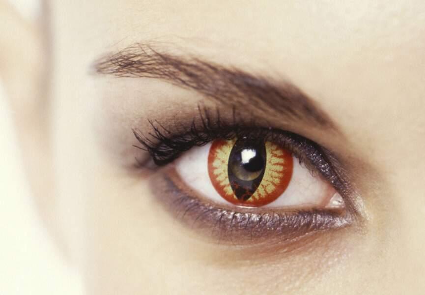 Des lentilles de couleur