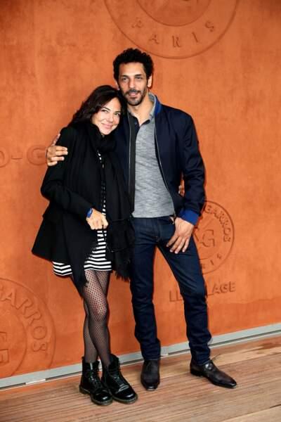 Tomer Sisley et sa femme Sandra le 9 juin 2019