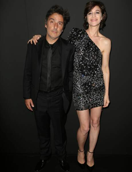 Charlotte Gainsbourg : le look night
