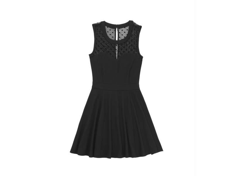 La robe à plumetis