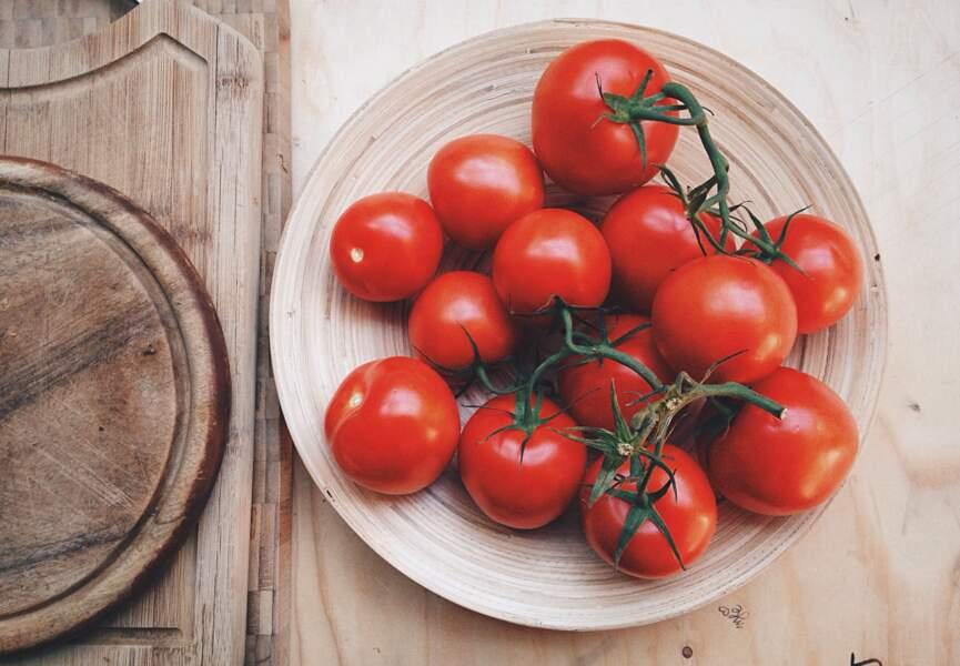 Aliment rouge : la tomate, le joker belle peau