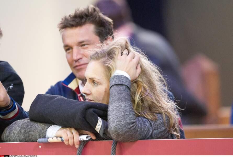 Benjamin Castaldi et son ex-femme Vanessa Broussouloux : 2011