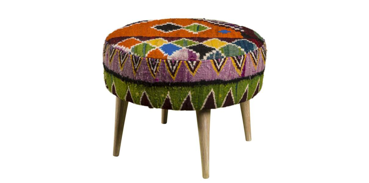 Pouf vintage Rock the Kasbah