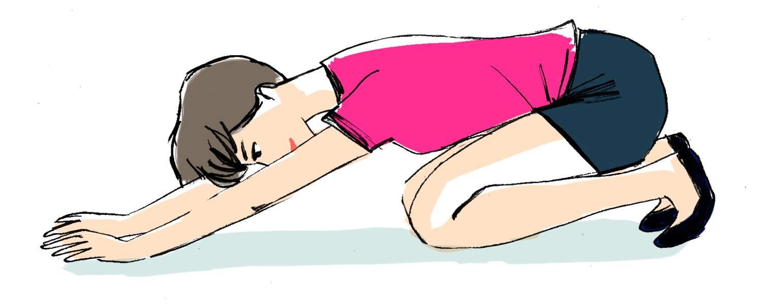 Les hanches, exercice 1