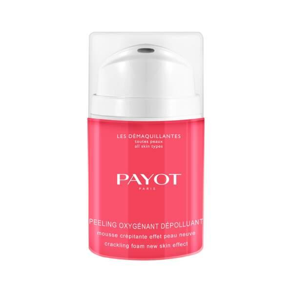 Peeling Oxygénant Dépolluant, Payot, flacon 40 ml, prix indicatif : 35 €