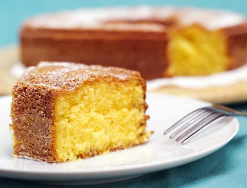 Gâteau au yaourt au son d'avoine