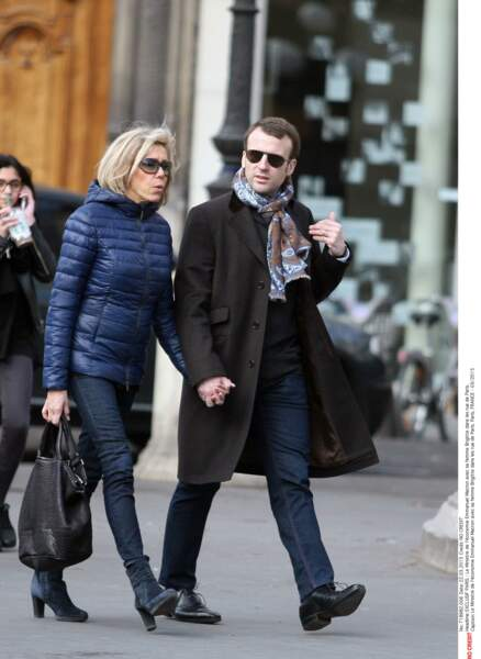 Emmanuel et Brigitte Macron - Mars 2015