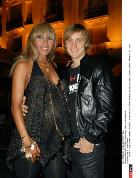 David et Cathy Guetta en 2007
