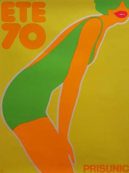 Affiche de Fredman Hauss pour Prisunic - 1970