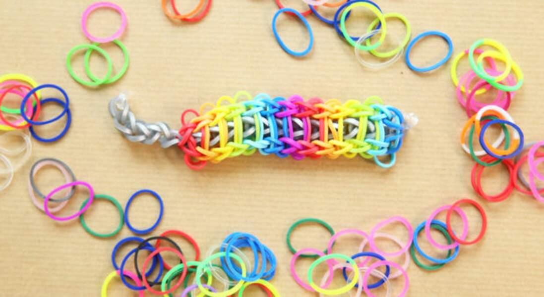 Le bracelet en échelle arc-en-ciel