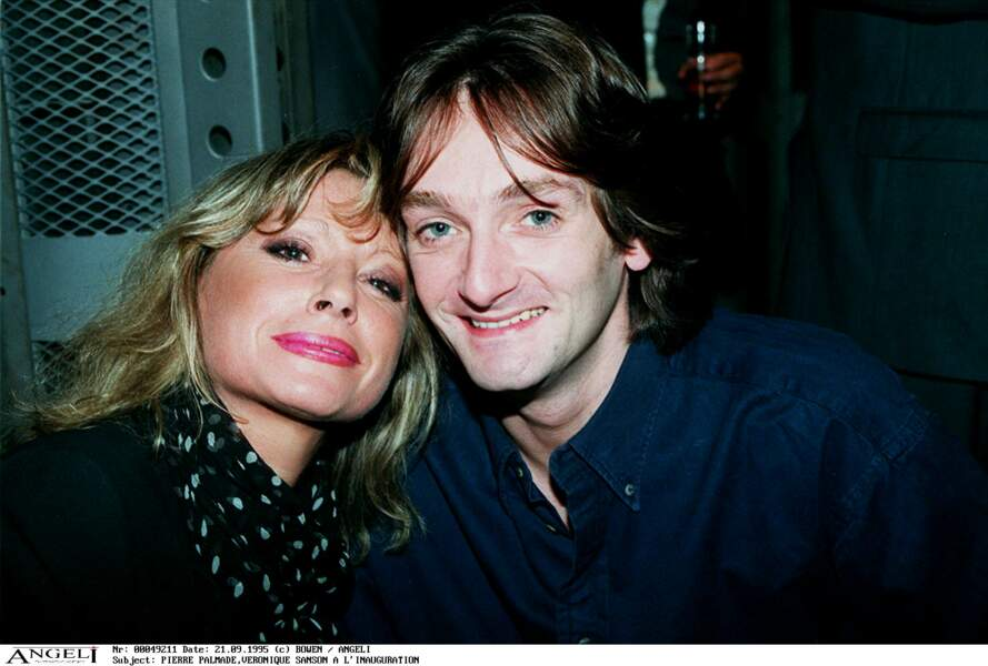 Véronique Sanson et Pierre Palmade à la discothèque Silver Factory le 21 septembre 1995.