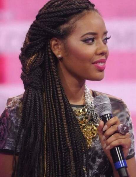 Les box braids en side hair