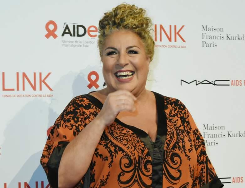 Marianne James en décembre 2017