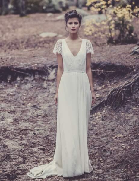 Robe de mariée poétique