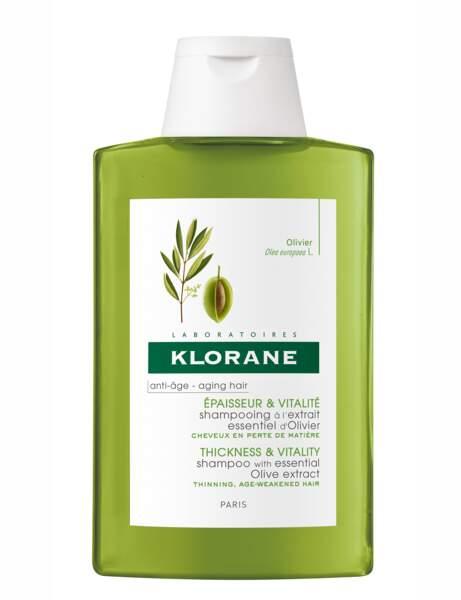 Le shampooing épaisseur et vitalité Klorane