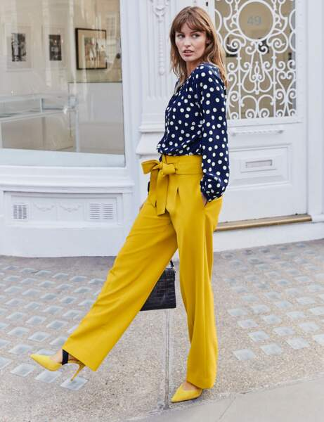 Pantalon : élégant