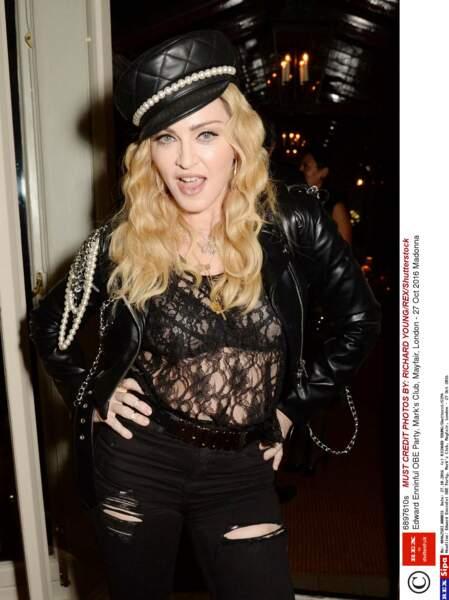 Tendance lingerie soutien-gorge : Madonna