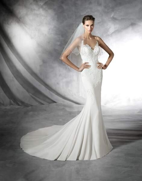 Robe de mariée Pronovias : Plisa