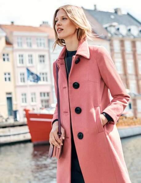 Le manteau rose