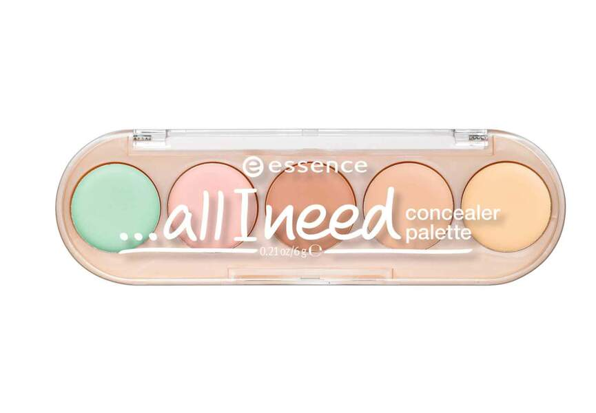 Pallette All I Need Concealer d'Essence Cosmetics