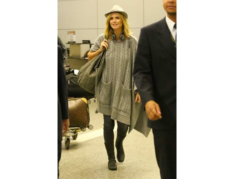 Le look casual d'Heidi Klum