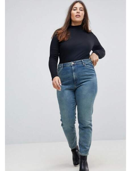 Mode grande taille : le jean mom trop cool