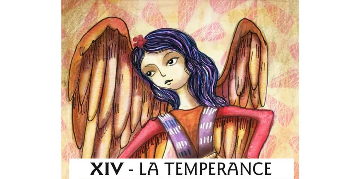 Tarot de Marseille : la Tempérance
