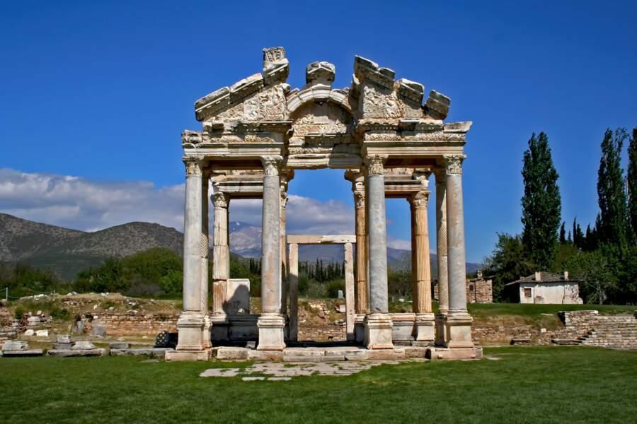 Le temple d'Aphrodite, en Turquie