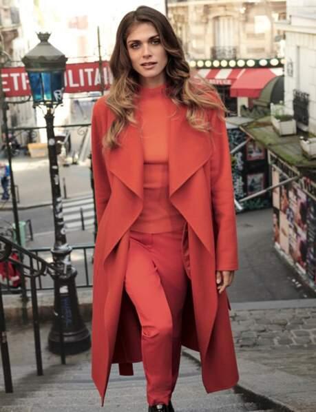 Le manteau orange sanguine