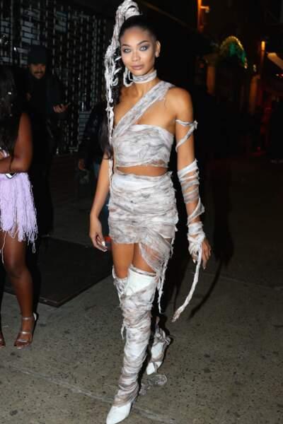Le déguisement de Chanel Iman pour Halloween