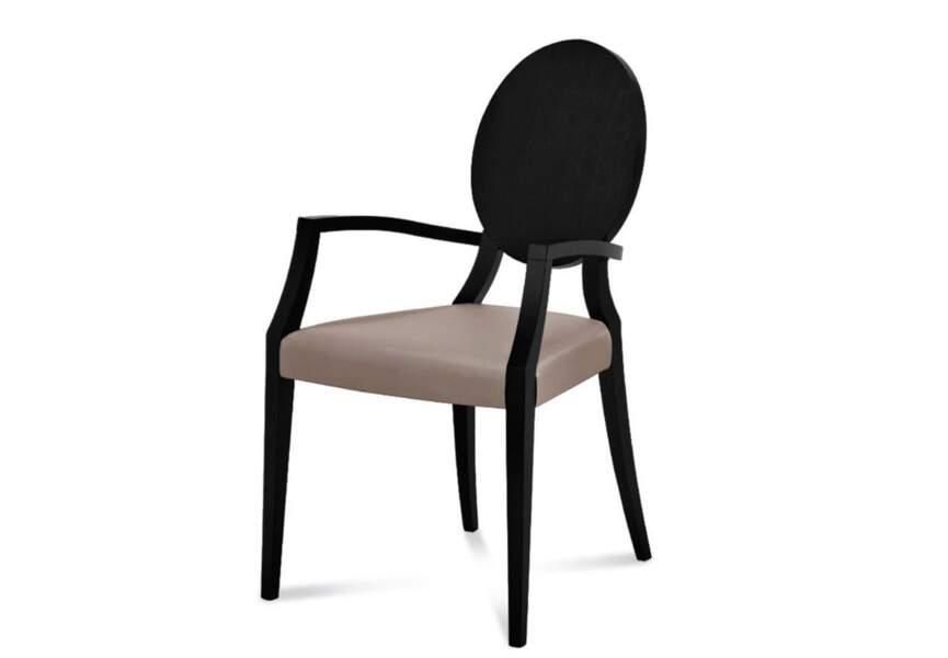 La chaise médaillon