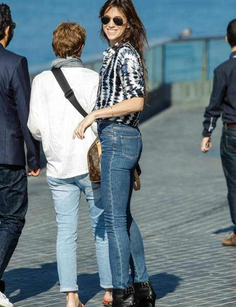 Charlotte Gainsbourg : le look casual