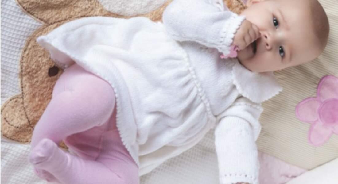 Layette De Bebe Les Plus Beaux Modeles A Tricoter Femme Actuelle