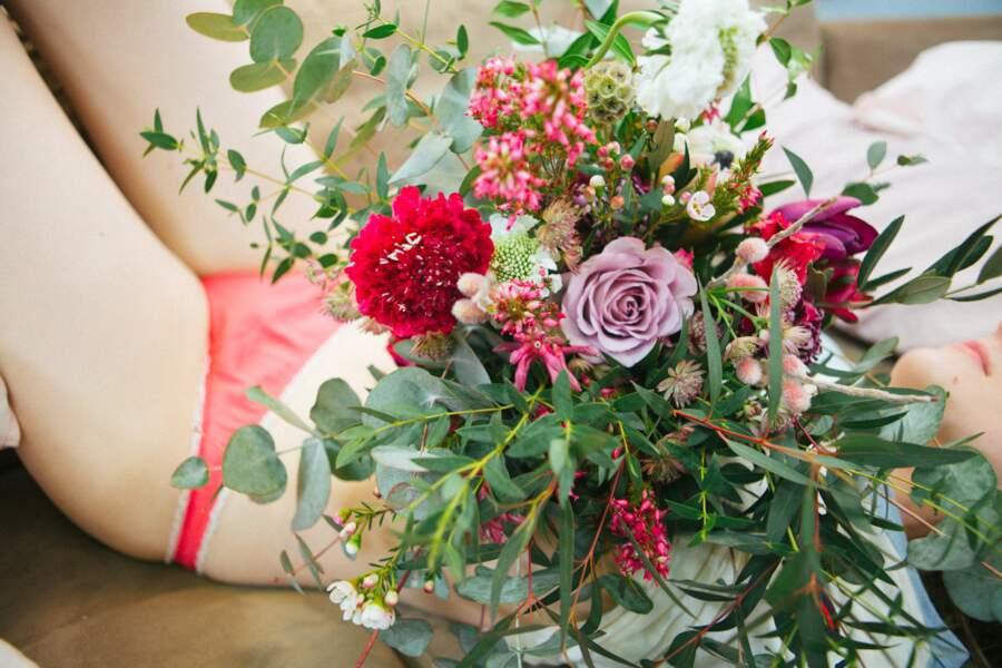 Pack Lover : Bouquet + Culotte Breakfast Club Paris - Pampa