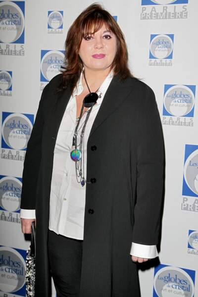 Michèle Bernier à la cérémonie des Globes de Cristal en 2007.