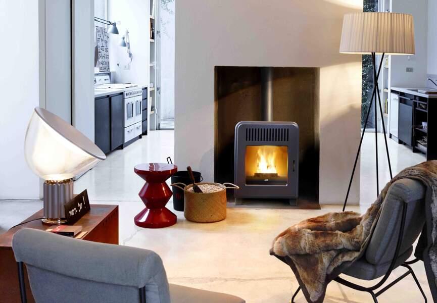 Nos poêles et radiateurs pour l'hiver : le poêle petit mais efficace