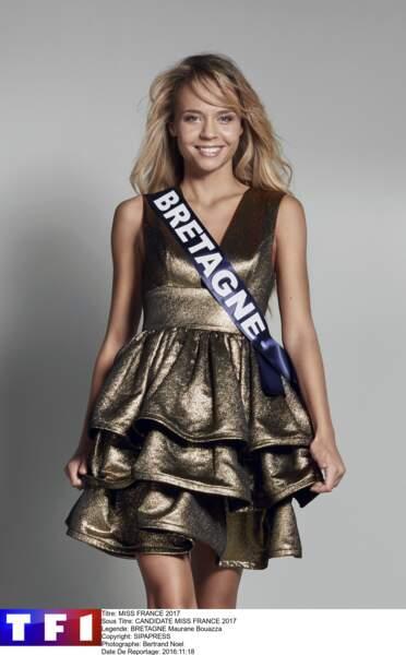 Miss Bretagne - Maurane Bouazza