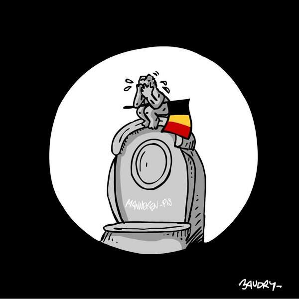L'hommage de Hervé Baudry, caricaturiste pour Public Sénat et Rue89