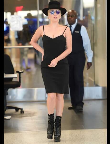 Les bottines à plateformes de Lady Gaga