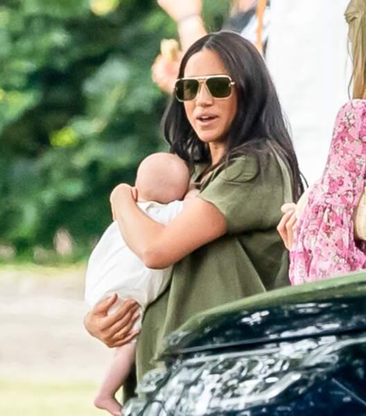 Meghan Markle et Archie ont été vus avec Kate Middleton, George et Charlotte